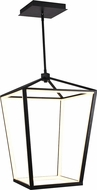 Avenue Lighting HF9401-BK Park Ave. Modern Black LED 17  Foyer Light Fixture