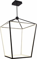 Avenue Lighting HF9402-BK Park Ave. Modern Black LED 30  Foyer Lighting Fixture