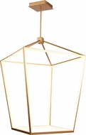 Avenue Lighting HF9402-GLD Park Ave. Contemporary Gold LED 30  Foyer Lighting Fixture