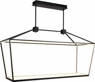 Avenue Lighting HF9403-BK Park Ave. Contemporary Black LED Kitchen Island Light Fixture