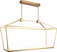 Avenue Lighting HF9403-GLD Park Ave. Modern Gold LED Island Lighting