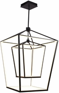 Avenue Lighting HF9412-BLK Park Ave. Contemporary Black LED Entryway Light Fixture