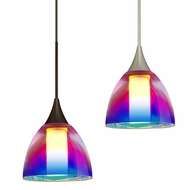 Besa 1858PD Divi Modern 2.625  Tall Mini Pendant Light