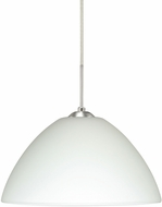 Besa 1JT-420107-LED-SN Tessa Modern Satin Nickel LED Mini Pendant Light Fixture
