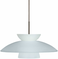 Besa 1JT-451325-BR Trilo 15 Contemporary Bronze Hanging Pendant Lighting