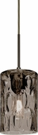 Besa 1JT-CRUSSM-BR Cruise Contemporary Bronze Smoke Mini Pendant Hanging Light