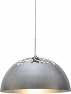 Besa 1JT-GORDY-LED-SN Gordy Modern Satin Nickel LED Pendant Lamp