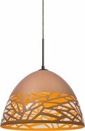 Besa 1JT-KIEVCP-LED-BR Kiev Modern Bronze LED Hanging Light
