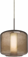 Besa 1JT-NILES10SO-BR Niles Modern Bronze Mini Hanging Light Fixture