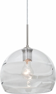 Besa 1JT-SPIR10CL-SN Spirit Modern Satin Nickel Mini Drop Ceiling Lighting