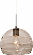 Besa 1JT-SPIR10SM-BR Spirit Contemporary Bronze Mini Ceiling Light Pendant