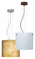 Besa 1KG-4184 Tamburo 12 Drop Ceiling Light Fixture With Glass Options