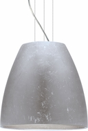 Besa 1KG-BELL20SF-LED-SN Bella Modern Satin Nickel Silver Foil LED 20  Pendant Lighting Fixture