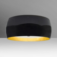 Besa 1KM-POGOGF-LED-BR Pogo Contemporary Bronze LED Ceiling Lighting