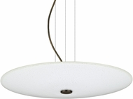 Besa 1KV-RENFRO16WS-LED-BR Renfro Contemporary Bronze White Sparkle LED Drop Ceiling Light Fixture