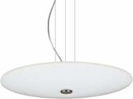 Besa 1KV-RENFRO16WS-LED-SN Renfro Modern Satin Nickel White Sparkle LED Drop Lighting Fixture