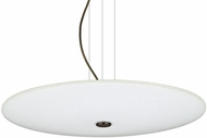 Besa 1KV-RENFRO20WS-LED-BR Renfro Contemporary Bronze White Sparkle LED Pendant Lighting