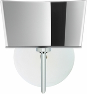Besa 1SW-6773MR-CR Groove Contemporary Chrome Sconce Lighting