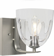 Besa 1WC-PHAN6CL-SN Phantom 6 Satin Nickel Lighting Wall Sconce