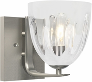 Besa 1WC-PHAN6WC-SN Phantom 6 Satin Nickel Wall Sconce Lighting