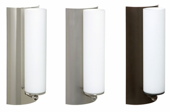 Besa 1WE118607 Metro Open-top Glass Contemporary Wall Lamp