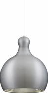 Besa 1XT-FELIX-LED-SN Felix Contemporary Satin Nickel Satin Nickel LED Mini Pendant Light