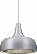 Besa 1XT-PERSIA-LED-SN Persia Contemporary Satin Nickel Satin Nickel LED Mini Pendant Lamp