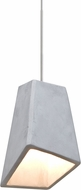 Besa 1XT-SKIPNA-LED-SN Skip Modern Satin Nickel LED Mini Pendant Light