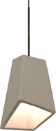 Besa 1XT-SKIPTN-LED-BR Skip Contemporary Bronze LED Mini Lighting Pendant