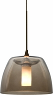 Besa 1XT-SPURSM-LED-BR Spur Contemporary Bronze LED Mini Hanging Lamp