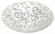 Besa 3CS9040 Slipstream Slim Large CFL Flush Mount Ceiling Lighting