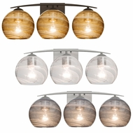 Besa 3WC-JILLY Jilly Contemporary 3-Light Bathroom Lighting Fixture