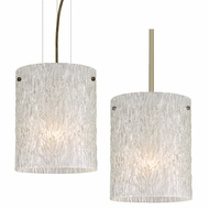 Besa 4006GL Tamburo Contemporary 7.875  Wide Mini Pendant Hanging Light