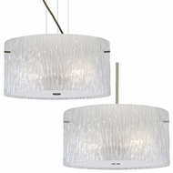 Besa 4008GL Tamburo Modern 7.875  Tall Hanging Light Fixture