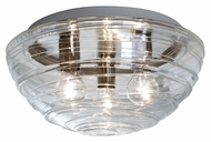 Besa 906361C Wave Contemporary 15  Wide Ceiling Lighting Fixture
