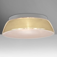 Besa 9662CRC Pica Contemporary Creme Sand 20  Ceiling Light Fixture