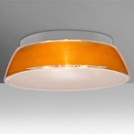 Besa 9663GDC Pica Contemporary Gold Sand 17  Overhead Lighting Fixture