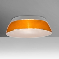 Besa 9664GDC-LED Pica Modern Gold Sand LED 14  Flush Mount Light Fixture