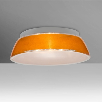 Besa 9664GDC Pica Contemporary Gold Sand 14 Overhead Lighting