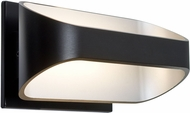 Besa ALPINE-LED-BK Alpine Contemporary Black LED Light Sconce