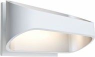 Besa ALPINE-LED-WH Alpine Modern White LED Lighting Sconce