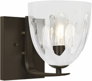 Besa Lighting 1WC-PHAN6WH-BR Phantom Modern Bronze Wall Lighting