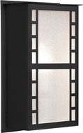 Besa NAPOLI11-GL-LED-BK Napoli Modern Black Glitter LED Outdoor Wall Sconce Light