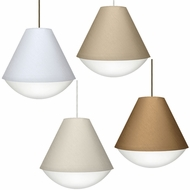 Besa RFLX Reflex Modern 10  Tall Mini Pendant Lighting Fixture