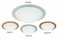 Besa Ring Small 12 Inch Diameter Ceiling Light Fixture With Finish Options