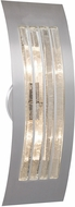 Besa SAIL17BB-SL Sail Contemporary Silver Bubble Exterior Wall Light Fixture