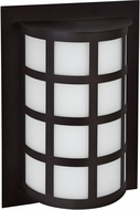 Besa SCALA13-WA-LED-BK Scala Modern Black White Acrylic LED Outdoor Wall Sconce
