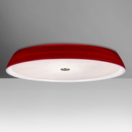 Besa SOPHI18RDC Sophi Modern Red Halogen 18  Overhead Lighting Fixture