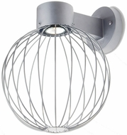 Besa SULTANA-G-WALL-LED-SL Sultana Modern Silver LED Wall Sconce Light