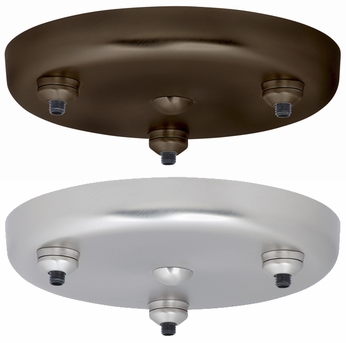 Besa T23XQ 3-light Round Configuration Canopy 120V